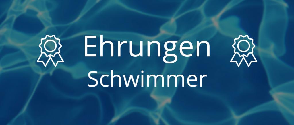 Schwimmerehrungen - Mittwoch, 29.05.2019 vor Beginn des  Finalabschnittes